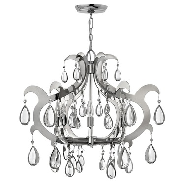 Xanadu Wide Chandelier by Fredrick Ramond | FR43354PSS