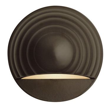 Round Eyebrow Deck Wall Sconce by Hinkley Lighting | 1549BZ