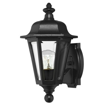 Manor House Exterior Wall Sconce by Hinkley Lighting | 1819BK