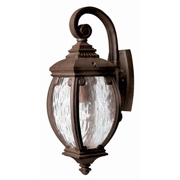Forum Outdoor Wall Light French Bronze