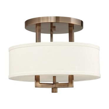 Hampton Semi Flush Ceiling Light by Hinkley Lighting | 3200BR