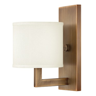 Hampton Wall Light by Hinkley Lighting | 3210BR