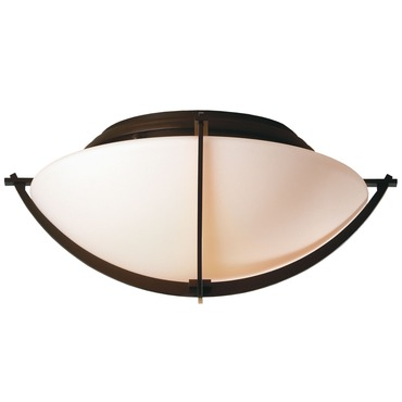 Compass Ceiling Semi-Flush Mount by Hubbardton Forge | 124550-03-G98