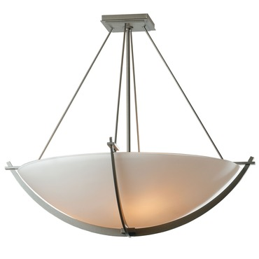 Compass Large Semi Flush Ceiling Light by Hubbardton Forge | 124560-08-G54