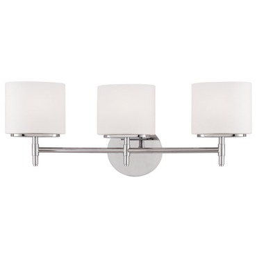 Trinity Bathroom Vanity Light by Hudson Valley Lighting | 8903-PC