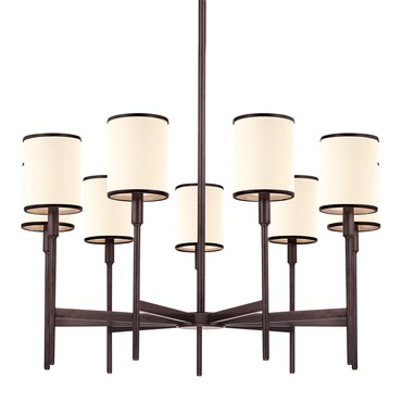 Aberdeen 9 Light Chandelier by Hudson Valley Lighting | 629-OB