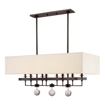 Gresham Park Chandelier by Hudson Valley Lighting | 5648-OB