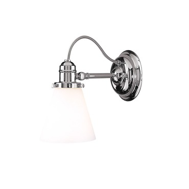 Adjustables Wall Sconce by Hudson Valley Lighting | 2341-PN