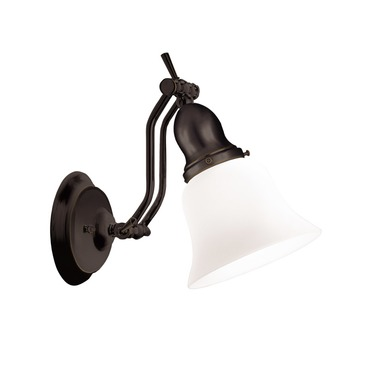 Adjustables Up / Down Wall Light by Hudson Valley Lighting | 341-OB