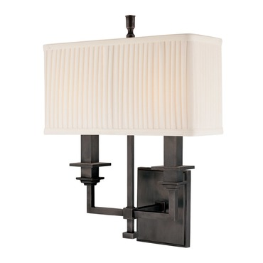 Berwick 2 Light Wall Sconce by Hudson Valley Lighting | 242-OB