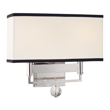 Gresham Park Wall Light by Hudson Valley Lighting | 5642-PN