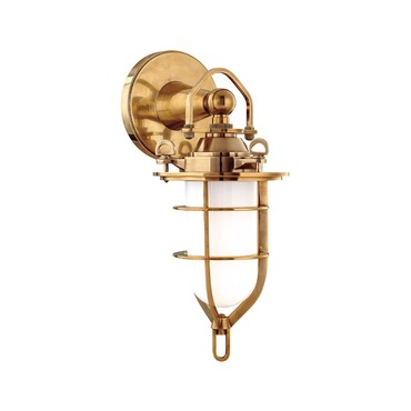 New Canaan Vanity Wall Sconce by Hudson Valley Lighting | 6501-AGB