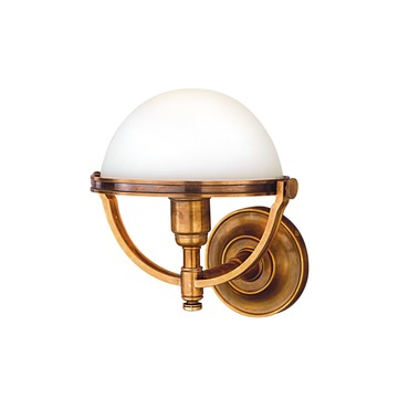 Stratford Wall Sconce by Hudson Valley Lighting | 3301-AGB