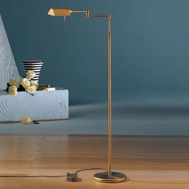 6317 Classic Reading Floor Lamp by Holtkoetter | 6317-AB