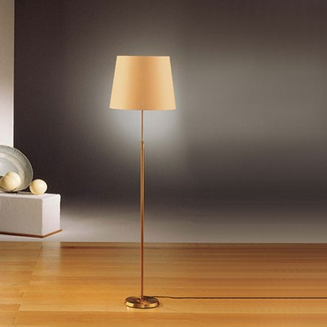 Illuminator 6354 Wide Shade Floor Lamp by Holtkoetter | 6354-AB-KPRG
