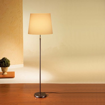 Illuminator 6354 Wide Shade Floor Lamp by Holtkoetter | 6354-HBOB-KPRG