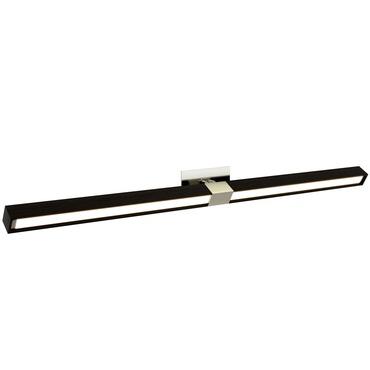 Tie Stix Wood Horizontal Adjustable Wall Light w/ 2RE Canopy