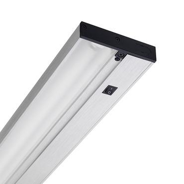 Linear undercabinet lighting upf pro series t5 fluorescent undercabinet light aloadofball Images