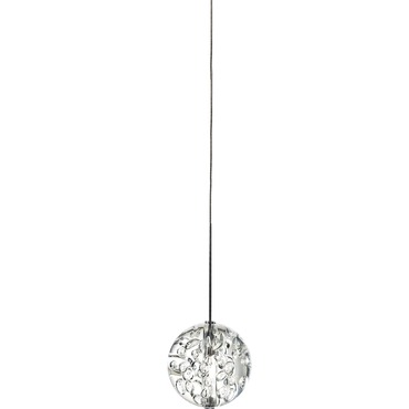 FJ Bubble Ball 12V Halogen Pendant by Edge Lighting | fj-bbcl-10ft-12-sn