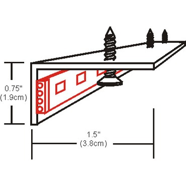 Soft Strip L Shape Heat Sink Reflector by Edge Lighting   ss-hr-l-4
