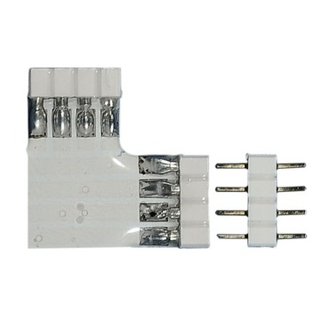 Soft Strip L Connector by Edge Lighting | ss-cl