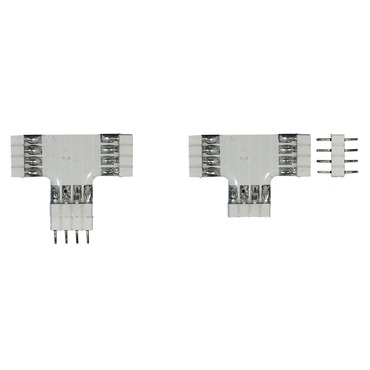 Soft Strip T Connector by Edge Lighting | ss-ct