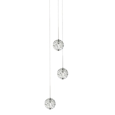 Bubble Ball 3 Light Halogen Multi-Light Pendant