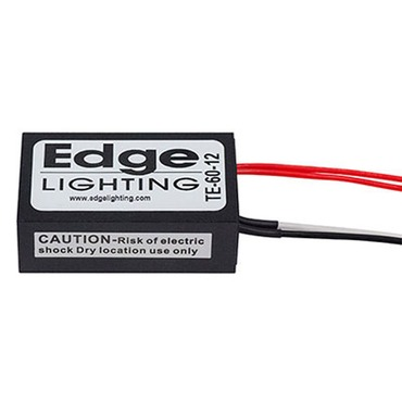 Remote 60W 12V Electronic Transformer by Edge Lighting | te-60-12