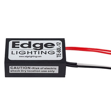 60W LED 12VAC Electronic Transformer by Edge Lighting | te-60l-12