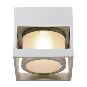 Cube-O Wall/Ceiling Light by PureEdge Lighting | CUBEO-H1-SA