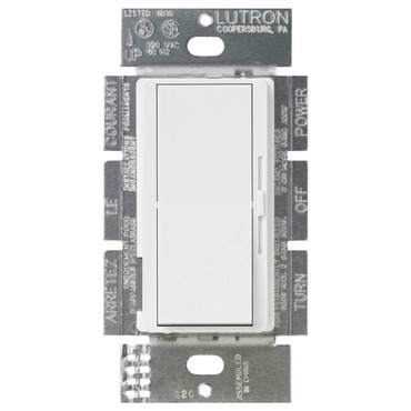Diva Fluorescent/LED/HID 0-10V Dimmer by Lutron | dvtv-wh