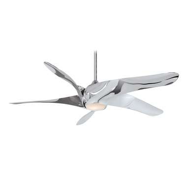 Artemis ceiling fan by minka aire artemis xl5 ceiling fan with light aloadofball Image collections