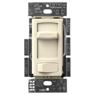 Skylark Contour CFL LED Single Pole/ 3-Way Dimmer by Lutron   CTCL-153P-AL