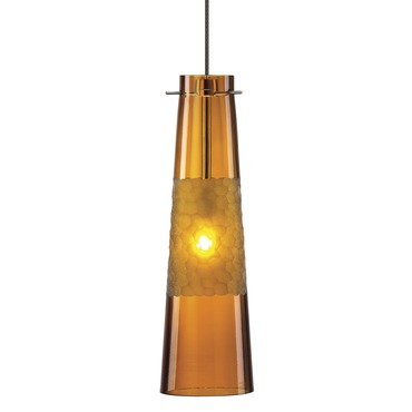 FJ Bonn Pendant by LBL Lighting | HS461AMBZ1B50FSJ