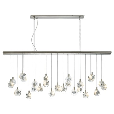 Bling Linear Suspension by LBL Lighting | HS524CRSC76