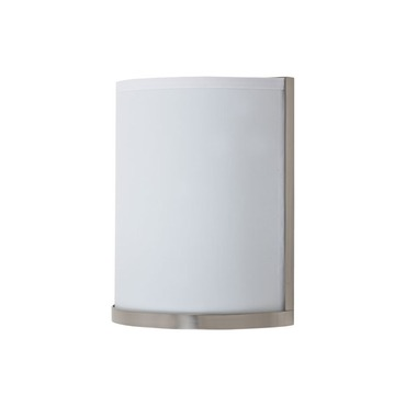 Meridian Wall Sconce by Lights Up | FM-rs-4035-bn-wht