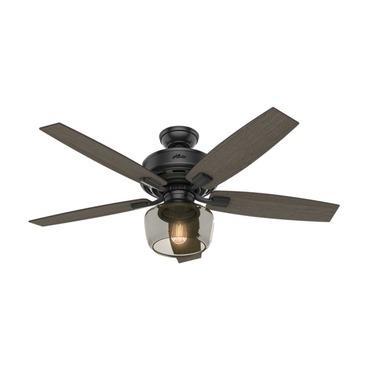 Bennett Ceiling Fan with Single Light