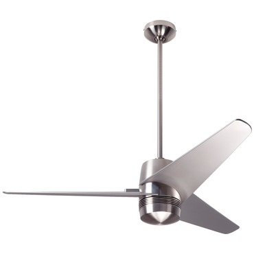 Velo Ceiling Fan No Light by Modern Fan Co. | VEL-BN-48-NK-NL-003
