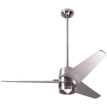 Velo Ceiling Fan No Light by Modern Fan Co. | VEL-BN-48-NK-NL-003