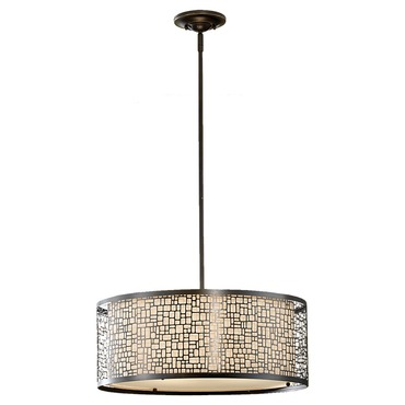 Joplin Pendant by Feiss | F2638/3LAB
