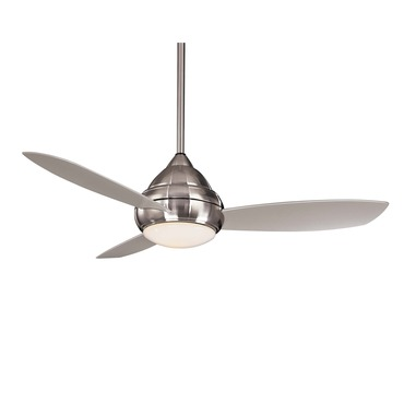 Concept I Ceiling Fan Wet Location by Minka Aire | F577-BNW