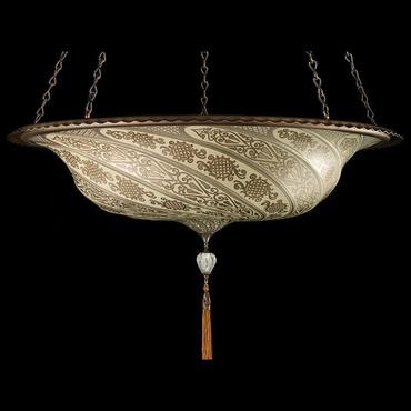 Scudo Saraceno Glass Pendant