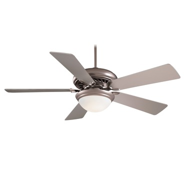 Supra 52 inch Ceiling Fan w/Light by Minka Aire | F569-BS