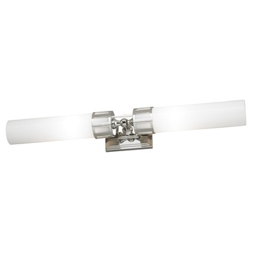 Astor 2 Light Bath Bar by Norwell Lighting | 9652-CH-SO