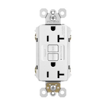 Tamper Resistant GFCI 15 Amp Outlet with Nightlight by Legrand ...