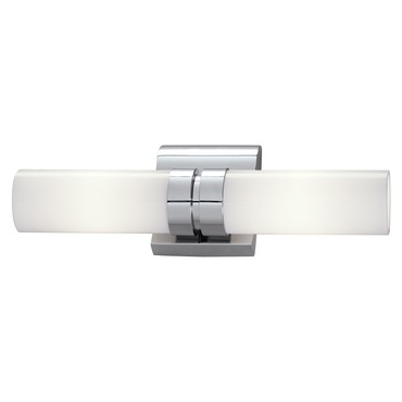 Wave Double Bath Bar by Norwell Lighting | 8902-ch-so