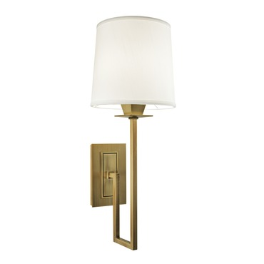 Maya Wall Light Bhs : Maya Wall Sconce by Norwell Lighting 9675-ag-ws