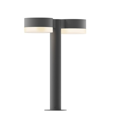 Reals Double PC FH/FW Outdoor Bollard Light