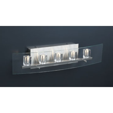 Ice Cube Bath Bar 5-Light