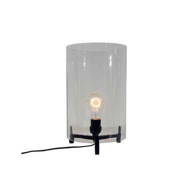 Cylinder Glass Table Lamp